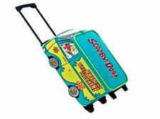 Official Scooby Doo Boys Girls Kids Wheeled Case Luggage Suitcase Travel Bag
