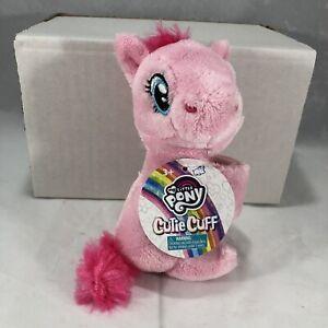 MY LITTLE PONY Pinkie Pie Cutie Cuff Plush Slap Band Bracelet Fluttershy NEW