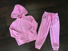 BABY K BY MYLEENE KLASS BLACK AND PINK TRACKSUIT 0-3 MONTHS