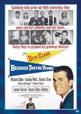 Because They're Young 0043396380837 With Tuesday Weld DVD Region 1