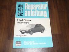FORD FIESTA II 1000 1100 ab 1983 Motor Getriebe WERKSTATT HANDBUCH Bucheli
