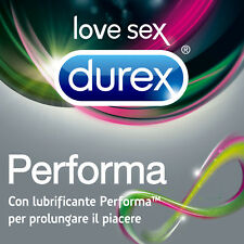 54 Preservativi Profilattici Durex Performa Ritardanti Marchio Ce