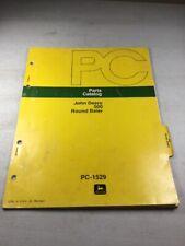 John Deere 500 Round Baler Parts Catalog Manual
