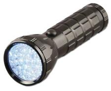Lindy High Intensity 28 Super Bright White LED Torch Weatherproof Aluminium Body