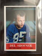 1964 PHILADELPHIA #123 DEL SHOFNER *GIANTS ** KRF-9210