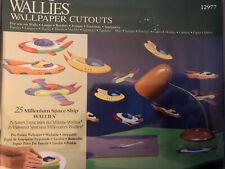 25 New Wallies Cut Outs Wallpaper Millennium Spaceship Border Decoration New