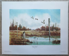 Jump Start Ohio Ducks Unlimited Print 1989 Al Krnc Signed & Numbered 230/400