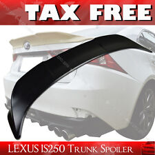 For Lexus IS250 IS350 IS F TRD Rear Trunk Spoiler ABS Unpaint 2014-2017 4DR
