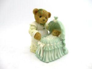 "Cherished Teddies Susan and Madison ""Tucking Baby In, Let Sleepy Time Begin"""