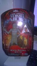 "Tomb Raider Stone Monkey Warrior 6"" Figure Lara Croft 2001 Playmates"