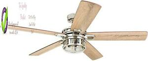 Honeywell Ceiling Fans 50610-01 Bonterra Ceiling Fan With Remote Control, Rustic
