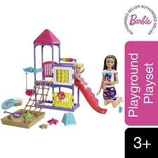 Barbie Babysitter Doll Skipper Playground Family Playset