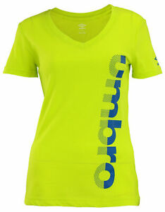Umbro Women's Vertical Mesh Short Sleeve Top, Color Options