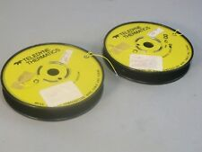 Teledyne Thermatics Yellow 28 AWG  Electrical Wire 600+ Feet - New