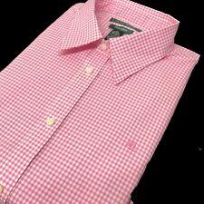 Ralph Lauren Womens Shirt Check White Pink RLL Lauren 1X / 2X BNWT