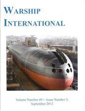 Warship International V49 N3 2012 Danube Monitor SMA Leitha Soviet Shipbuilding