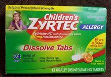 Children's Zyrtec Allergy 24 Hour 10mg Dissolve Tabs Citrus - 12ct
