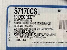 Moen S7170CSL 1-Handle High Arc Kitchen Faucet Classic