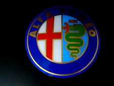 ENSEIGNE DECO MURALE GARAGE  ATELIER PUBLICITE ALFA ROMEO COLLECTION VINTAGE