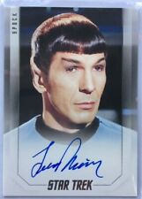 Leonard Nimoy Autograph as Spock, Star Trek Inflexions, Very Limited