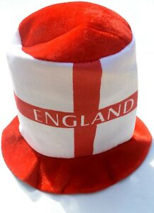 Adults England World Cup St Georges Day Flag Football Felt Hat Sport Accessory