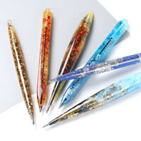 Silicone Epoxy Resin Mould Ballpoint Pen Mold Casting Jewelry Making DIY Clear