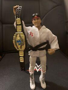 WWE Mattel Figure Lot Flashback Elite Ricky The Dragon Steamboat Belt Wrestling