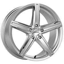 "4-Vision 469 Boost 17x7 5x112 +42mm Silver Wheels Rims 17"" Inch"