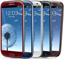 Samsung Galaxy S3 Black White Red Brown or Blue SCH-I535 Verizon *Refurbished*