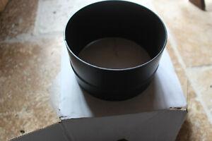 ♡♡ Raccord diamètre 150 mm Coloris Noir fumisterie et poêle ♡♡