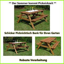 Garten-Tische & Bank-Sets aus Holz mit bis zu 4 Sitzplätzen