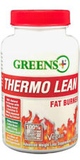 Thermo Lean 120 caps Burner Weight Loss 100% Natural Diet - Greens Plus