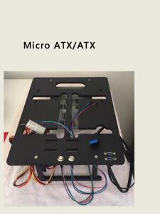 A4 Mini ITX MATX Micro ATX PC Test Bench Computer Frame Water Cooling Aluminum