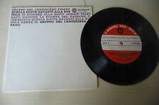 """CANZONIERE PISANO""""QUELLA NOTTE DAVANTI AL BUS-disco 45 giri D,SOLE It 1969"""""""