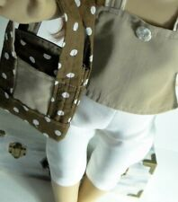 "Handmade 18"" Doll Outfit New Fits Our Generation 3pc Tank Top Shorts Tote bag"