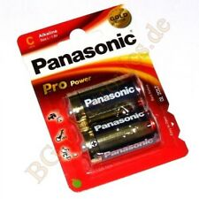 1 x LR14PPG 2BP Alkaline Pro Power Battery LR14PPG/2BP Panasonic  1pcs
