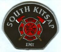 South Kitsap Fire Rescue Department EMT EMS Patch Washington WA