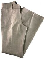 Banana Republic Jackson Fit Lined Tan Boot Cut Women's Pants Size 0
