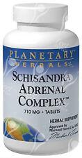 Planetary Herbals Schisandra Adrenal Complex - 710mg x120tabs