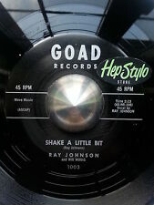 RAY JOHNSON/AL REED- SHAKE A LITTLE BIT/TOP NOTCH - AWESOME DOUBLE SIDER LISTEN!