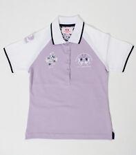 LA MARTINA Mädchen Poloshirt Flieder Gr. 6, 8, 10, 12, 14 NEU