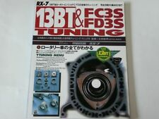 MAZDA RX-7 13BT & FC3S FD3S PERFECT TUNING & Modify Owners Bible  TATSUMI RARE
