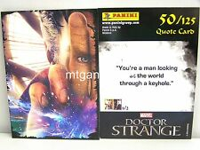 Doctor Strange Movie Trading Card - 1x #050 cuota Card-TCG