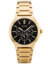 Casio Multi-Dial Stainless Steel Men's Watch MTP-V300G-1AV - Gold Tone