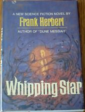 WHIPPING STAR by Frank Herbert, SIGNED, Hard Cover, FIRST EDITION, c.1970