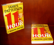11th Hour, James Patterson ** Signed First Edition + Uncorrected Proof * ARC