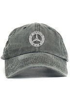Mercedes Benz Logo Custom Unstructured Dad Hat Baseball Cap New-Black Denim