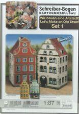 Jordan H0 610 Kartonmodell-Bausatz Set 2 Altstadthäuser