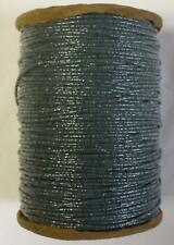 GIMP 700 - 750 YPP NATIONAL BRAID SPOOL TRIM YARN GREEN-GREY SHIMMER (G45)