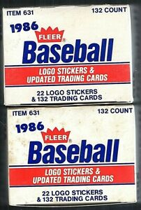 1986 Fleer Update Baseball Set Lot (2) Barry Bonds Jose Canseco RC Rookies ++